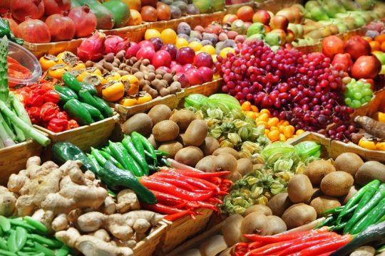 hortalizas y frutas 540x360