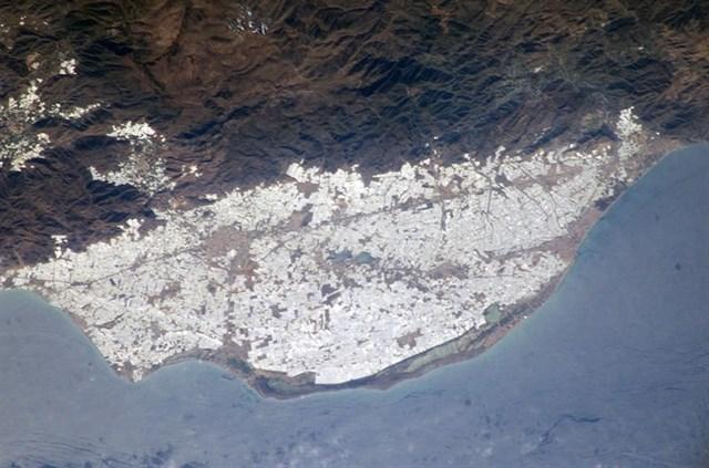 Los invernaderos de Almería